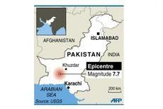 Korban Tewas Gempa Pakistan Sudah 93 Orang