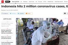 Covid-19 Indonesia Tembus 2 Juta Kasus, Beritanya Populer di Media Asing
