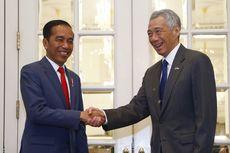 Jokowi dan PM Singapura Perpanjang Kerja Sama Bilateral Bank Sentral