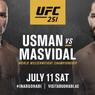 Link Live Streaming UFC 251, Kamaru Usman Vs Jorge Masvidal
