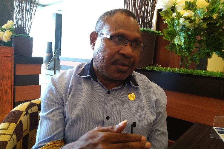 Ketua KPU Papua Theodorus Kossay