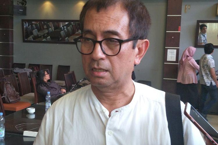 Pengamat kebijakan publik Agus Pambagio seusai menjadi pembicara dalam diskusi bertajuk Potret Dunia Penerbangan Indonesia di kawasan Menteng, Jakarta Pusat, Sabtu (3/11/2018).