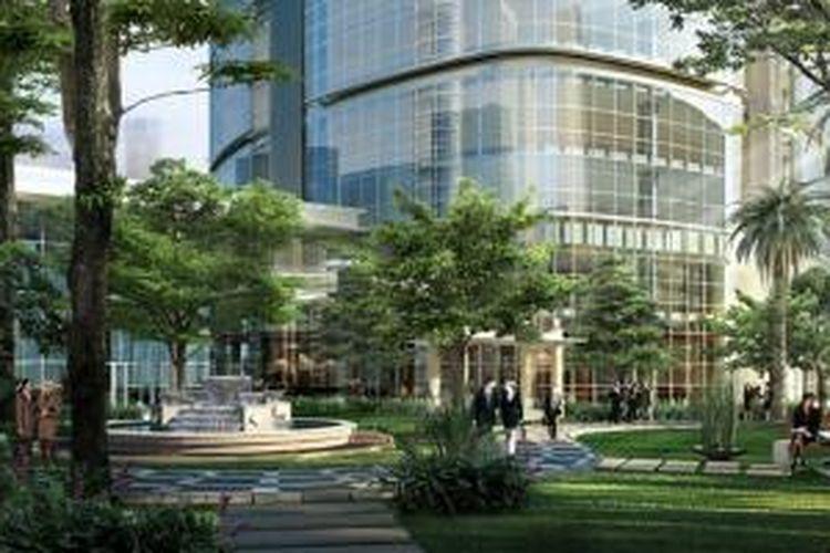 The Manhattan Square Tahap II senilai Rp 350 miliar.