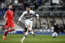 Luksemburg Vs Portugal, Akhirnya Cristiano Ronaldo Cetak Gol Lagi