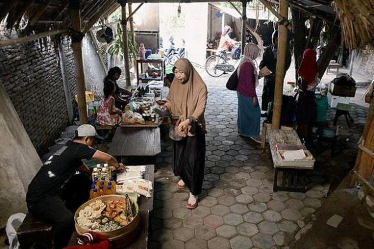Resto Milas di kawasan Prawirotaman, Yogyakarta.