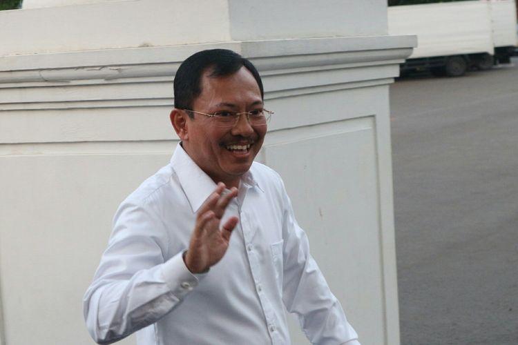 Kepala RSPAD Gatot Soebroto Mayjen dr. Terawan Agus Putranto datang ke Istana