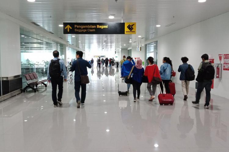 Terminal baru Bandara Ahmad Yani, Semarang, Kamis (19/7/2018).
