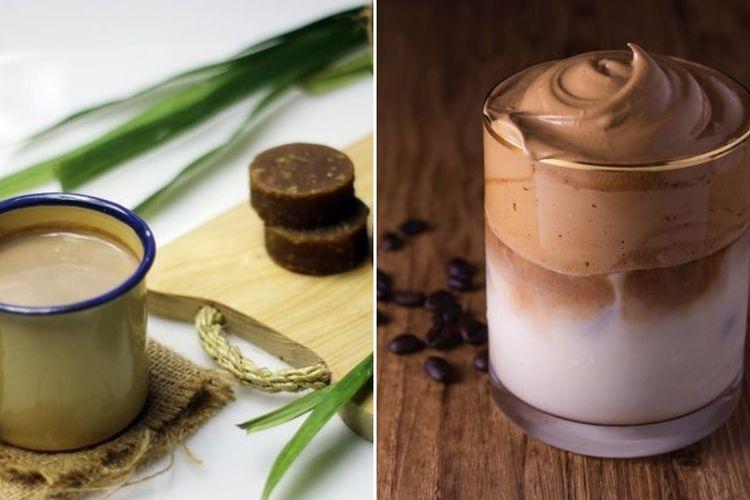 Bajigur dan Dalgona Coffee