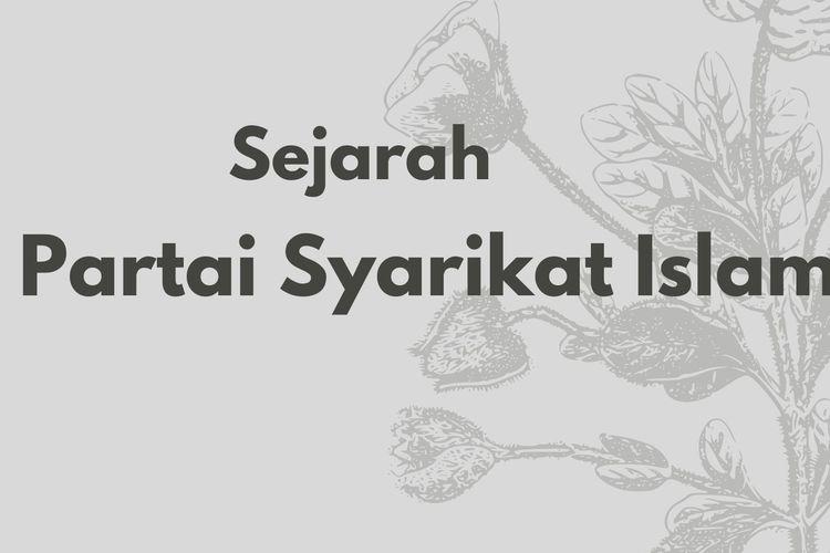 Sejarah Partai Syarikat Islam