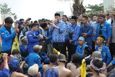 Di Demo Mahasiswa, Gubernur Wahidin Temui Pendemo dan Jelaskan Program Pemprov Banten