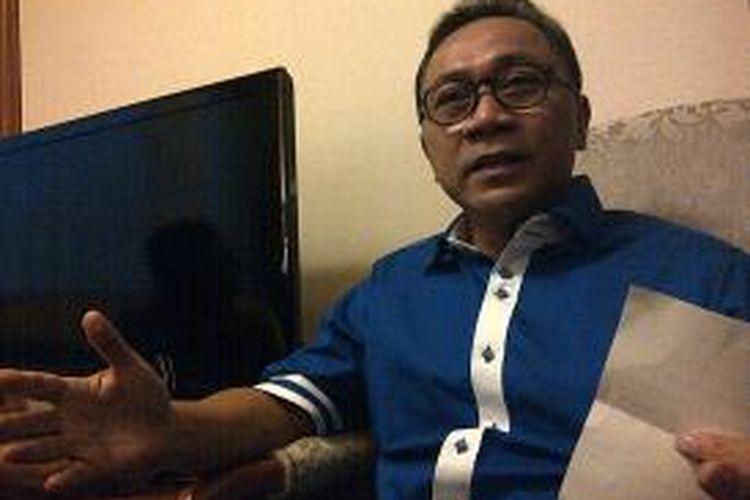 Calon Ketua Umum PAN, Zulkifli Hasan.