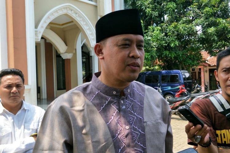 Wakil Wali Kota Bekasi, Tri Adhianto saat ditemui Wartawan di Kelurahan Mustika Jaya, Kota Bekasi, Jumat (8/2/2019).