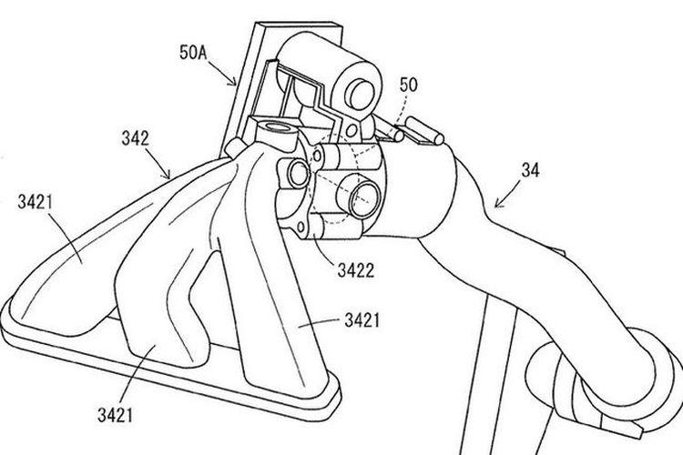 Yamaha patenkan mesin baru turbo 3-silinder
