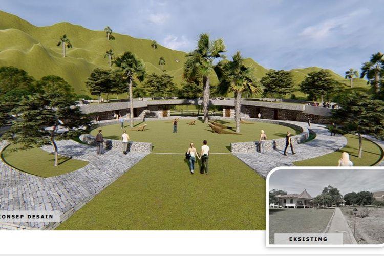 Penataan Pulau Rinca menelan dana Rp 30 Miliar.