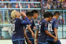 Arema Cukur PS TNI 4-0