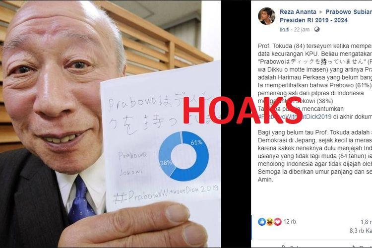 Hoaks Prof. Tokuda