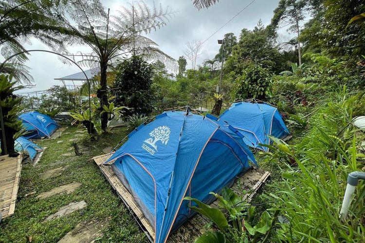 Lembah Pinus Camp & Cafe, Kabupaten Bogor, Jawa Barat DOK. Instagram.com/lembahpinus.id