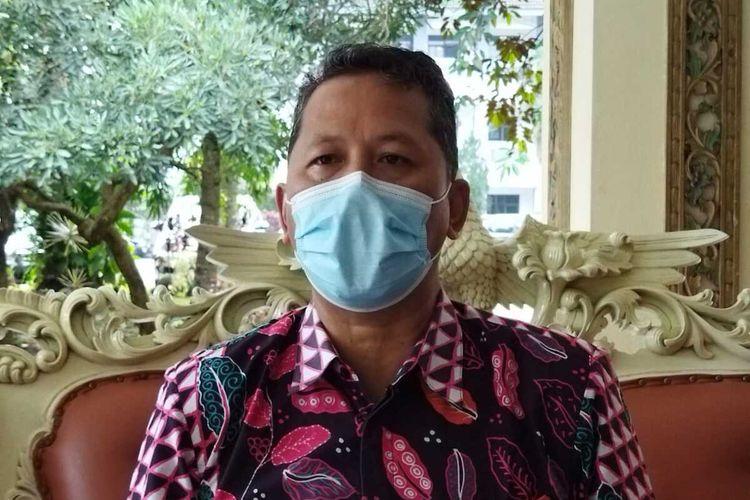 Sekretaris II Satgas Covid-19 Kabupaten Temanggung, Djoko Prasetyono, Senin (14/6/201)