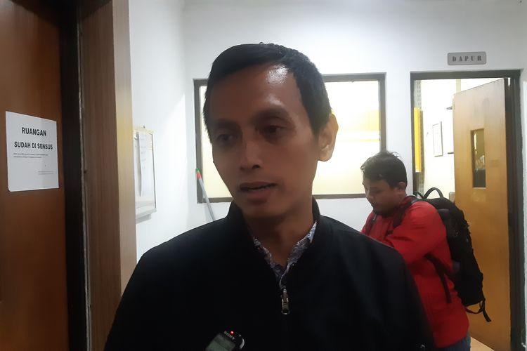 Direktur Imparsial Al Araf di Komnas HAM, Jakarta, Senin (26/1/2020).