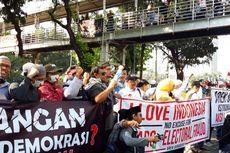 Massa Aksi di MK Datang dari Tegal hingga Surabaya