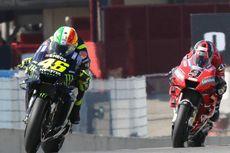 Gagal Finis, Valentino Rossi Akui Kesulitan di MotoGP Italia