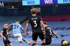 Hasil Manchester City Vs Burnley - Riyad Mahrez Hat-trick, The Citizens Pesta 5 Gol