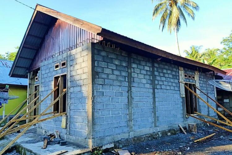 Pembangunan Program Bantuan Stimulan Perumahan Swadaya (BSPS) di Provinsi Sulawesi Tengah.