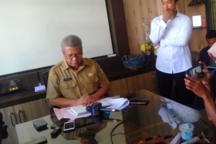 Kepala Dinas Kesehatan Kalimantan Barat Harisson.