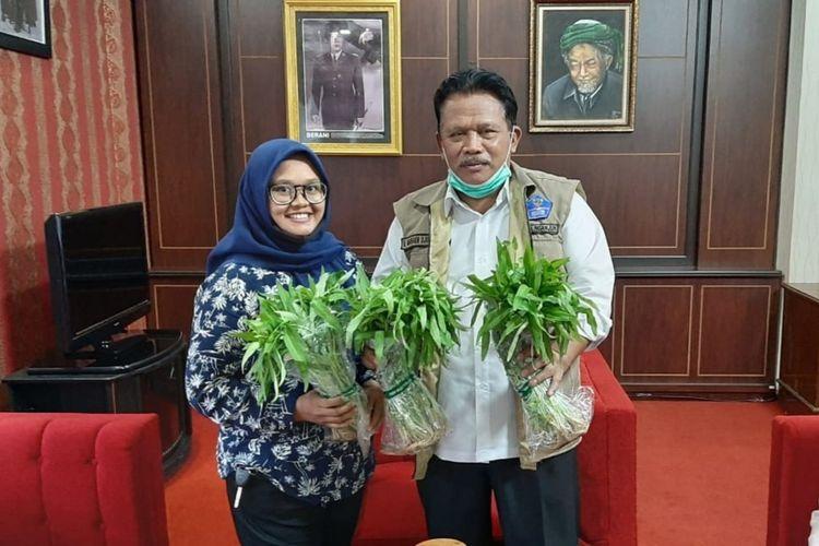 Wakil Bupati Nganjuk Marhaen Jumadi (kanan). Foto dokumentasi pribadi Marhaen Jumadi.