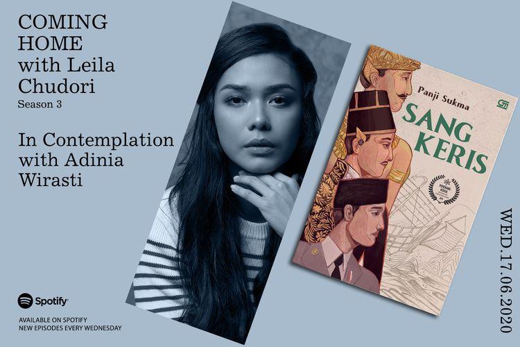 Coming Home with Leila Chudori: Adinia Wirasti Menggenggam Sang Keris