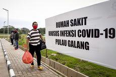 UPDATE: Tambah 1 Orang, RSKI Pulau Galang Rawat 15 Pasien Positif Covid-19