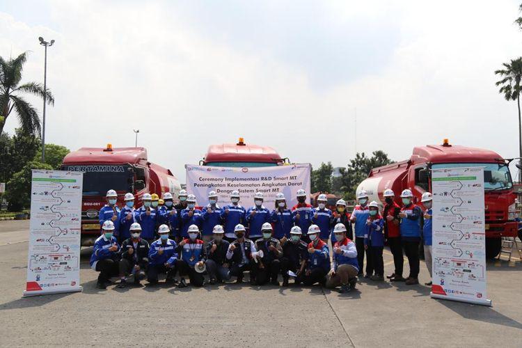 Inovasi SmartMT pada truk tangki milik Pertamina