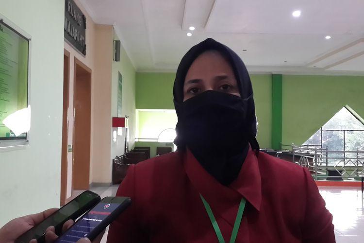 Bupati Jember, Faida yang maju lagi di Pilkada Kabupaten Jember dari jalur perseorangan usai menjalani tes psikologi di RSSA Kota Malang, Rabu (9/9/2020)