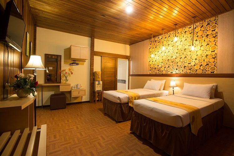Hotel di Lembang - Kamar tipe Classic Room di Pesona Bamboe, Kabupaten Bandung Barat, Jawa Barat.