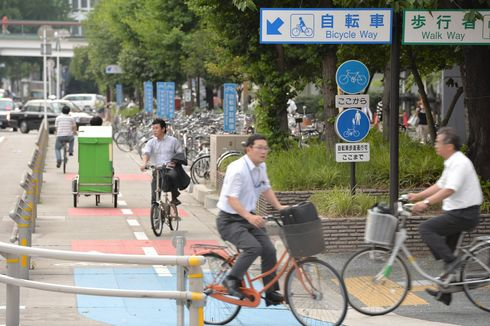 Seperti Sepeda, Skuter Listrik di Jakarta Harus Masuk Jalur Khusus