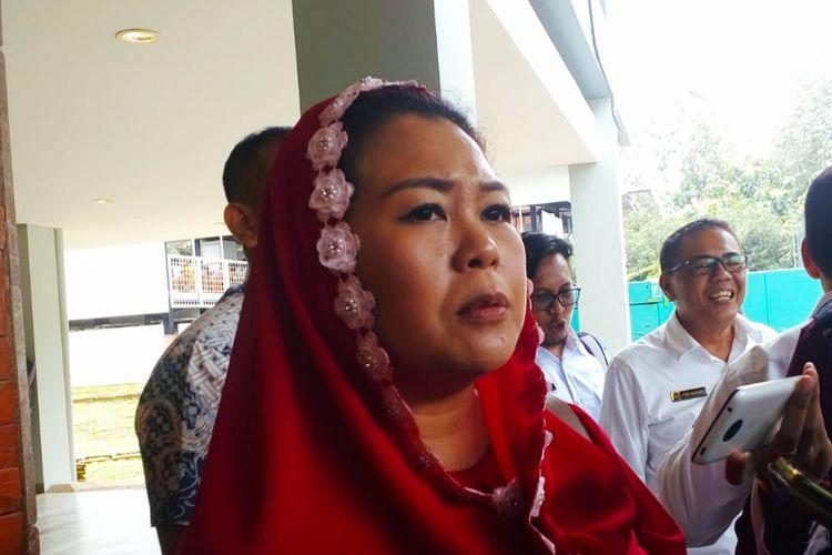 Yenny Wahid, putri kedua eks Presiden RI Abdurrahman Wahid di FISIP Universitas Indonesia, Senin (17/2/2020).