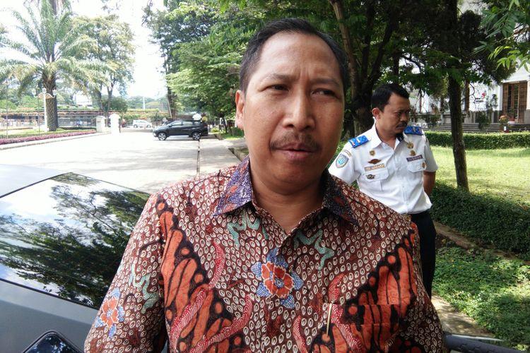 Kepala Dinas Pariwisata Jawa Barat Dedi Taufik di Gedung Sate, Bandung, Jawa Barat