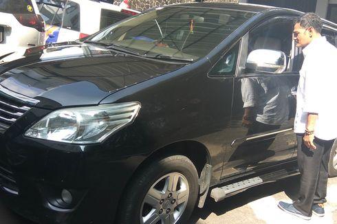 Mobil Dinas Istri Sekda Ciamis Dibobol Pencoleng di Limbangan Garut