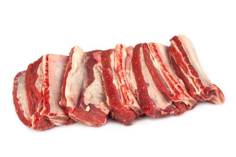 Beef Rib, salah satu potongan daging sapi untuk steak.
