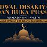 Jadwal Imsak dan Buka Puasa Hari Kedua, 14 April 2021, di Bekasi