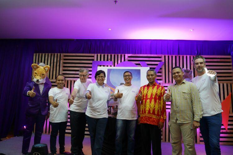 Grand Launching Fox Harris Hotel Pekanbaru, Riau, Kamis (8/3/2018).
