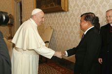 Dialog 70 Menit Jusuf Kalla dengan Paus di Vatikan, Bahas Apa?