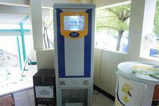 Bukan Uang, ATM di Masjid Raya Bintaro Ini Berisi Beras untuk Dhuafa