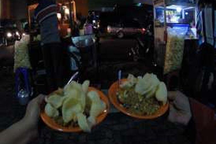 Nasi goreng yang dibawa Jokowi ke Istana Bogor.