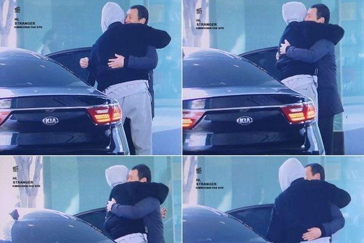 Aktor Kim Woo Bin melakukan pertemuan mengharukan dengan bodyguard-nya