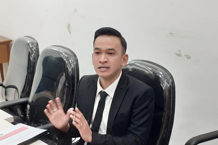 Ruben Onsu usai jalani sidang KKl di kawasan Cikini, Jakarta Pusat, Selasa (17/12/2019).