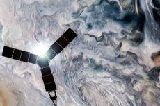 Melihat Rupa Jupiter yang Menawan dari Mata Juno