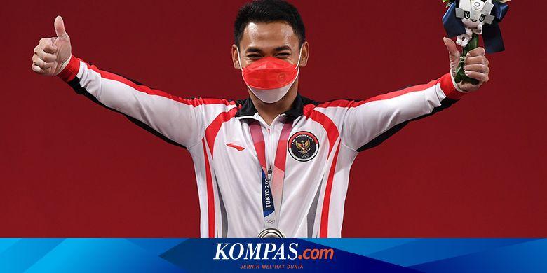 Setelah meraih medali perak pada Olimpiade Tokyo 2020, lifter Eko Yuli Irawan ditanyai soal pensiun. Lalu, apa jawaban dia?