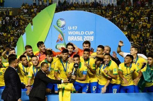 Atasi Perlawanan Meksiko, Brasil Raih Juara Piala Dunia U-17 2019