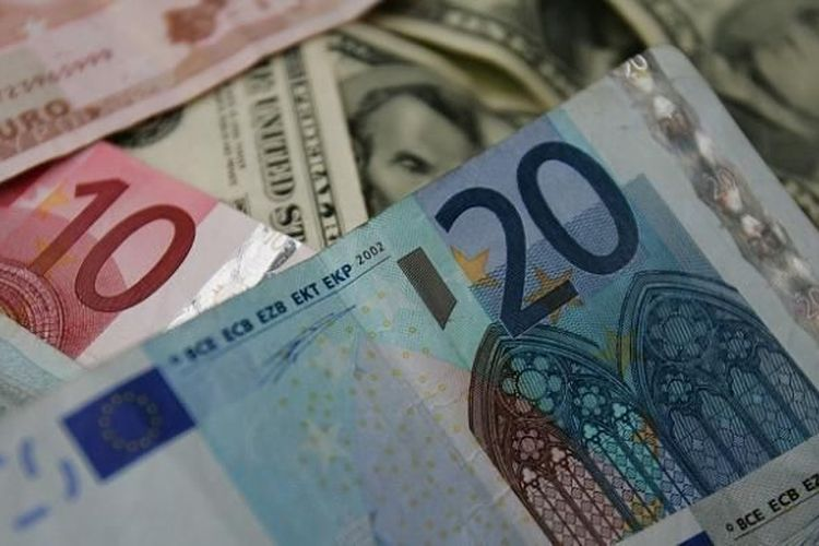 Ilustrasi uang kertas.(AFP)